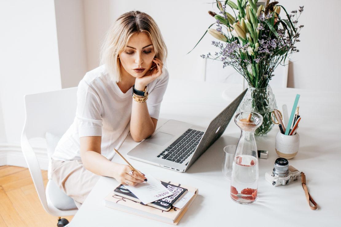 Работа блоггера